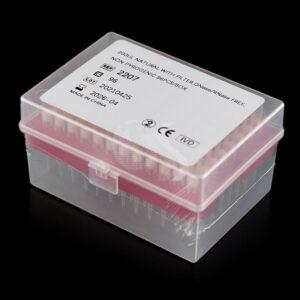 Punta con filtro de 200 ul - estéril libre de RNASA y DNASA